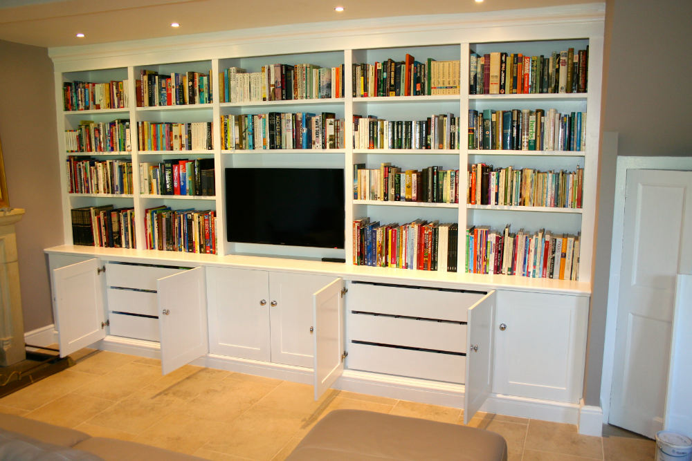 Bespoke Fitted Furniture in Surrey - The BookCase Co