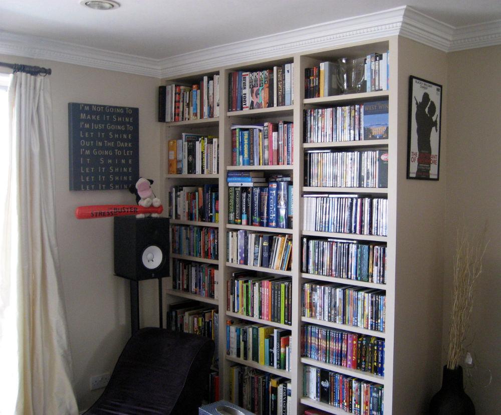 Fantastic Built In Bookshelves Bespoke Bookcases London  Furniture Artist