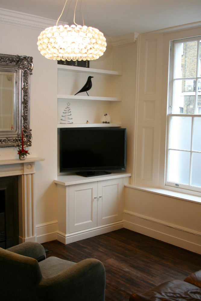 Bookcase With Cabinet Floating Shelving With Alcove