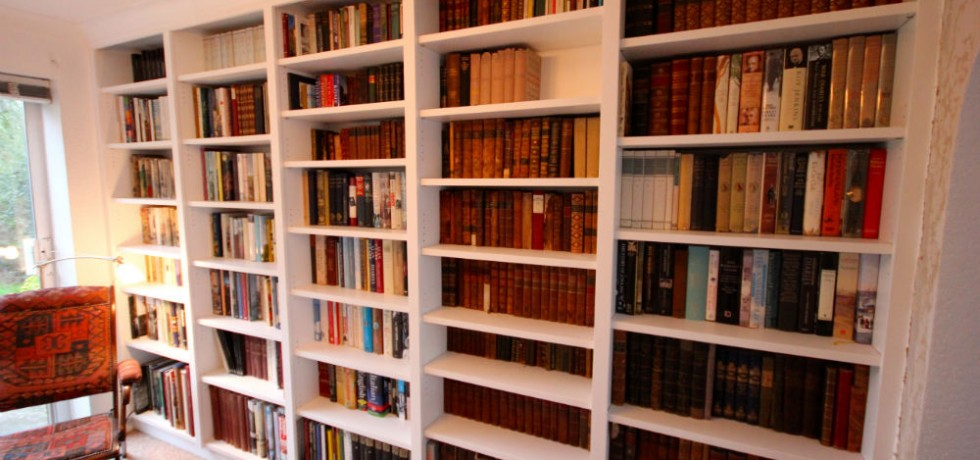 bespoke library bookcase