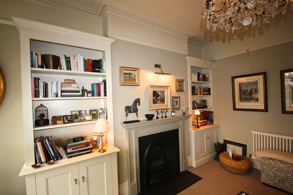 Traditional Alcove units in Fulham - The BookCase Co