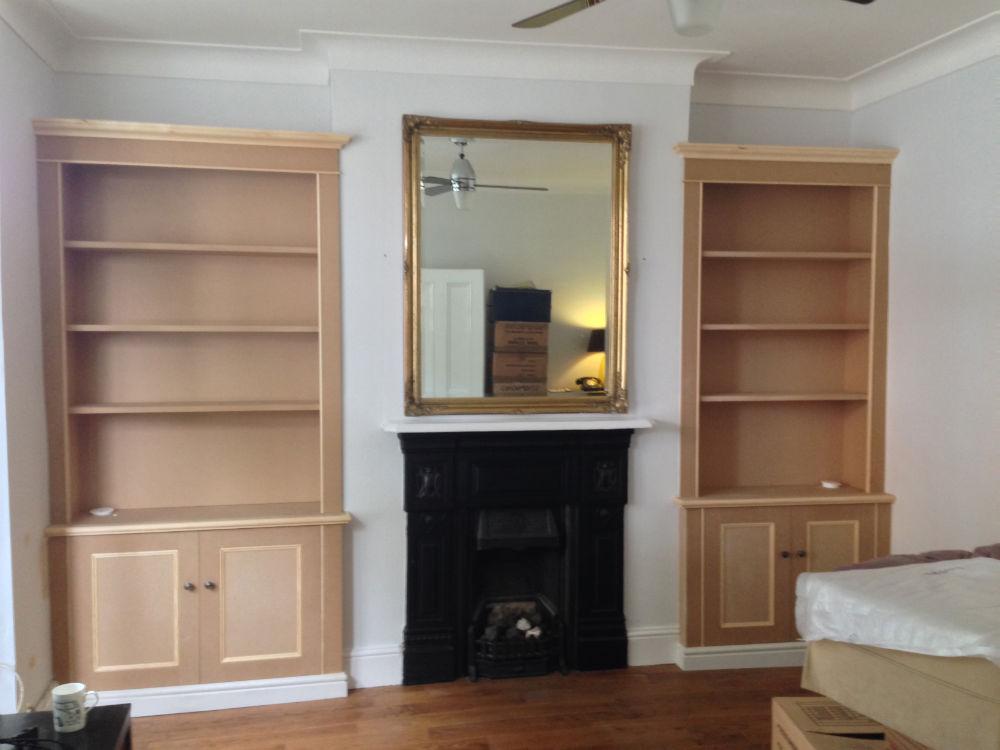Unpainted Alcove Units Eltham The Bookcase Co